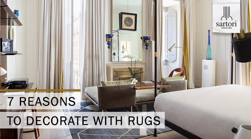 7 Reasons to Decorate with Rugs