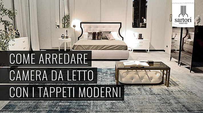 Come arredare camera da letto con i tappeti moderni - Arredare con i tappeti ...