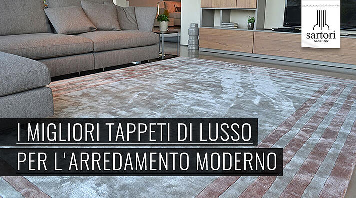 I migliori tappeti di lusso per l 39 arredamento moderno for Arredamento moderno di lusso