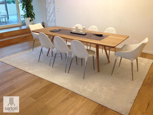 Cool il consiglio quello di scegliere sempre tappeti della - Tappeti d arredo ...