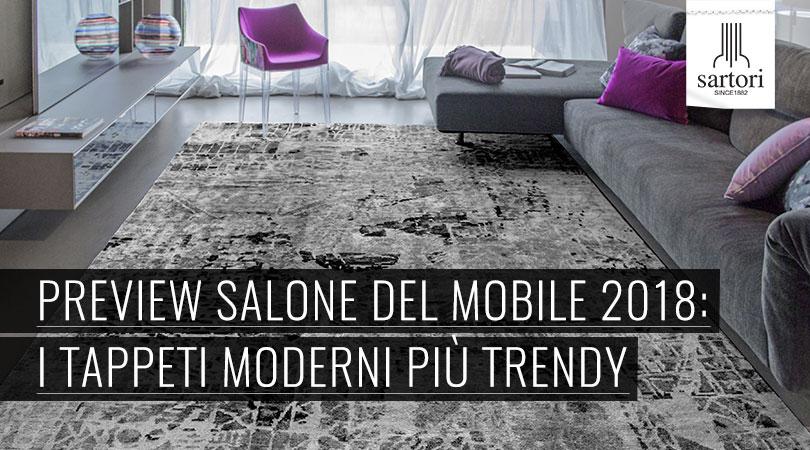 Tappeti Soggiorno Moderno : Preview salone del mobile i tappeti moderni più trendy