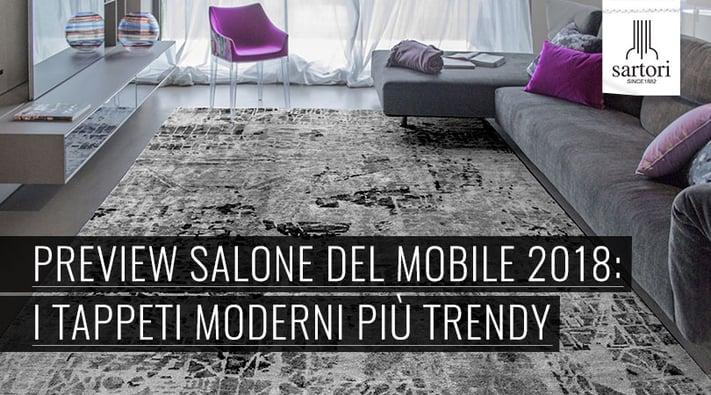 Preview Salone Del Mobile 2018: I Tappeti Moderni Più Trendy