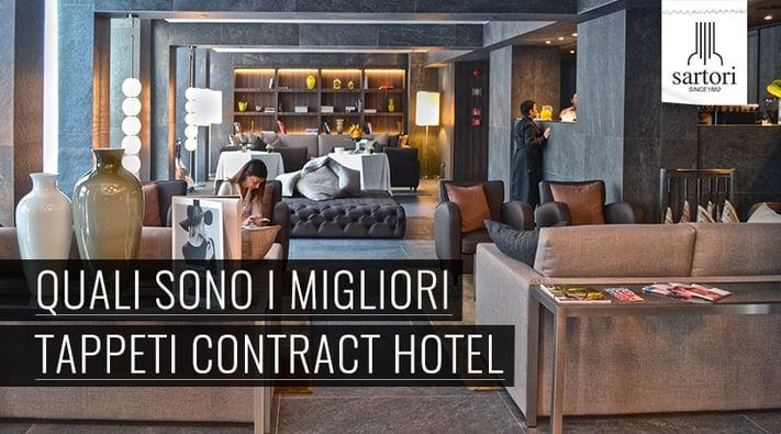 Quali sono i migliori tappeti contract hotel for Sartori tappeti
