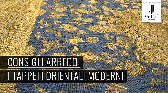 Consigli arredo i tappeti orientali moderni for Tappeti arredo