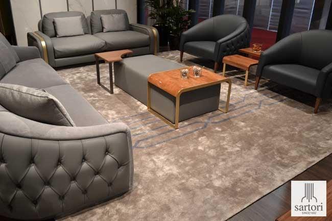 Wie Wahlt Man Die Perfekte Grosse Fur Wohnzimmer Teppiche