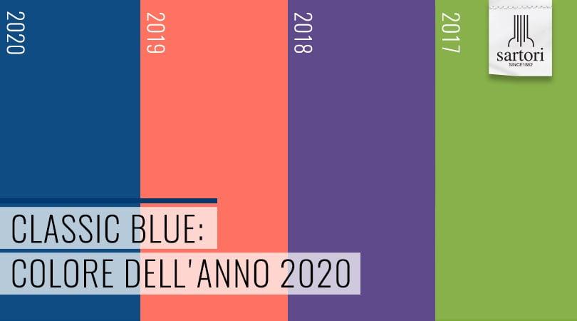 Classic Blue Colore dellanno 2020