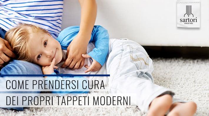 Come Prendersi cura dei propri Tappeti Moderni
