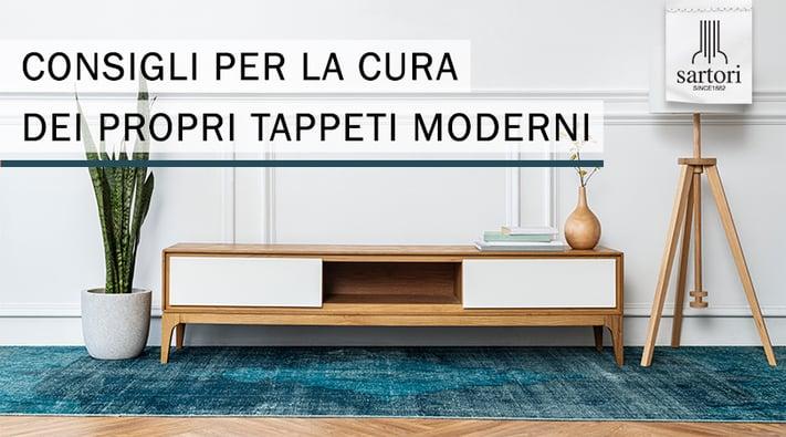 Consigli per la cura dei propri Tappeti Moderni