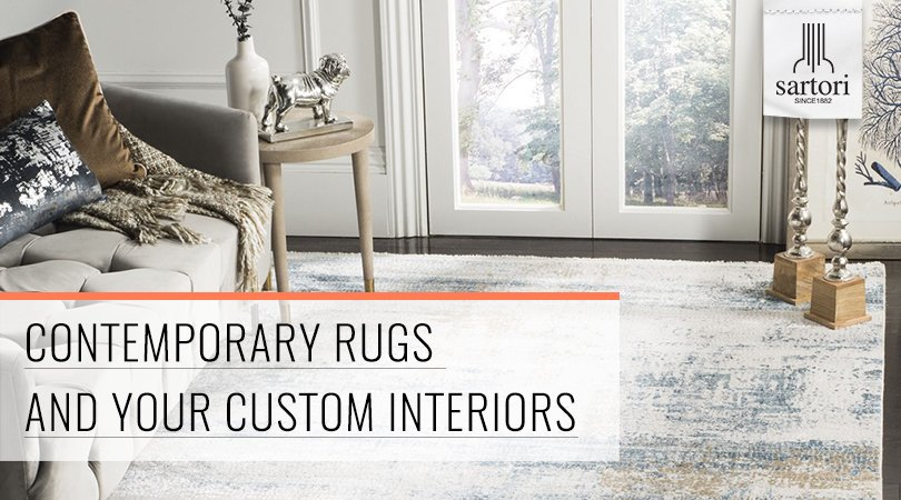 Contemporary Rugs and Your Custom Interiors