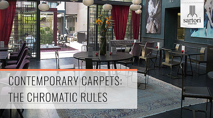 Contemporary carpets  the chromatic rules