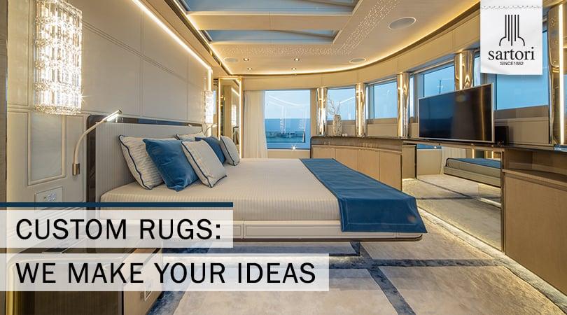 Custom rugs We make your ideas