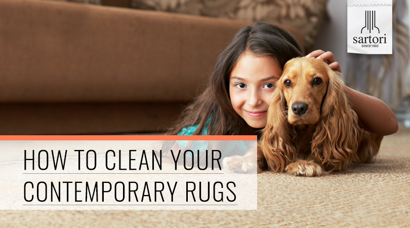 How To Clean Your Contemporary Rugs