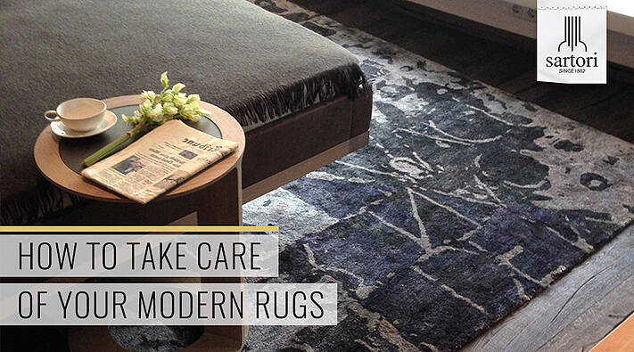 How to take care of your Modern Rugs