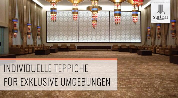 Individuelle Teppiche für exklusive Umgebungen