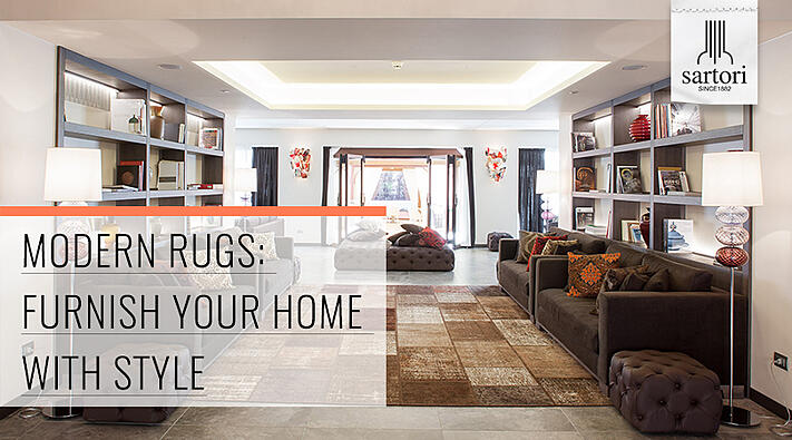 Modern Rugs Furnish your Home with Style