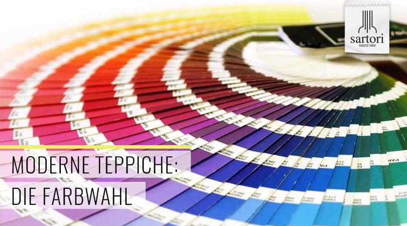 Moderne Teppiche Die Farbwahl