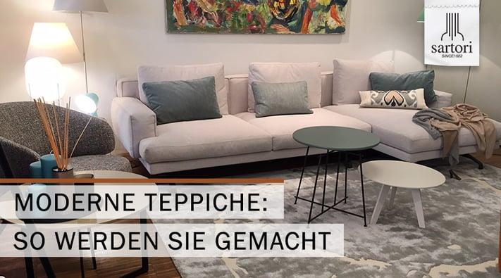 Moderne Teppiche So werden sie gemacht