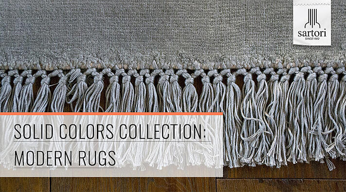 Solid Colors Collection  Modern Rugs