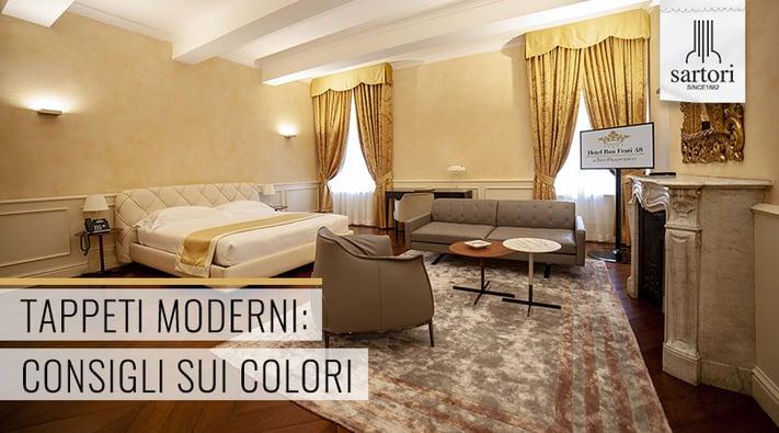 Tappeti Moderni  Consigli sui Colori