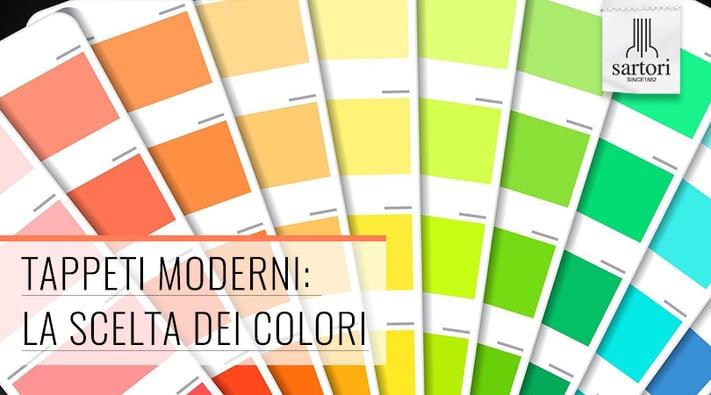 Tappeti Moderni La Scelta dei Colori