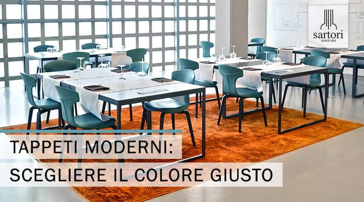 Tappeti Moderni scegliere il colore giusto
