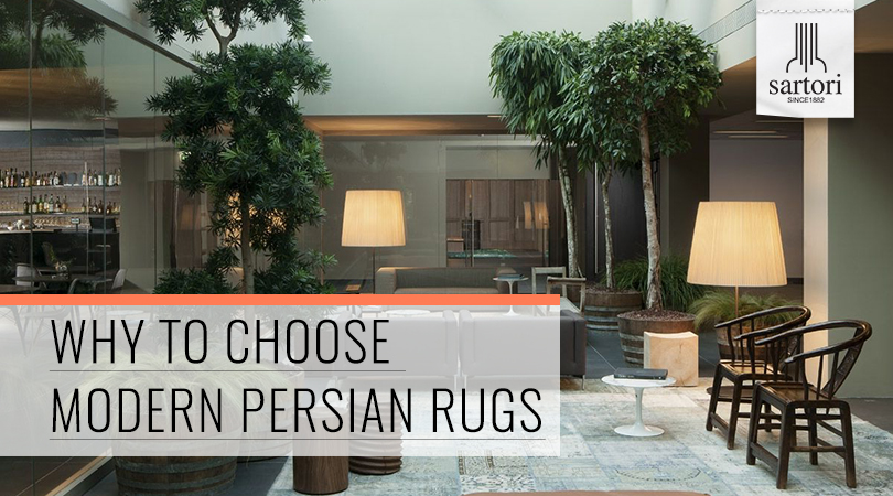 Why To Choose Modern Persian Rugs