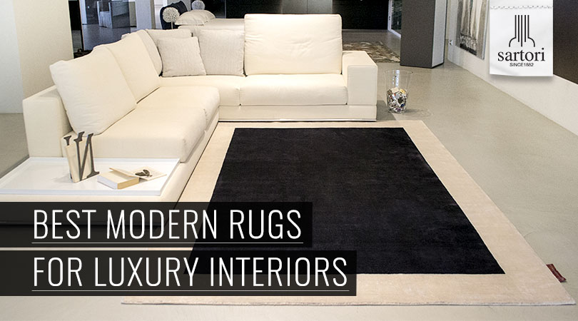 Best Modern Rugs For Luxury Interiors