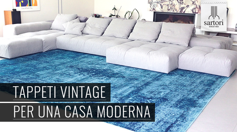 Tappeti vintage per una casa moderna for Casa moderna vintage