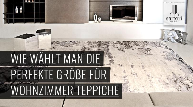 Wie wählt man die perfekte Größe für Wohnzimmer Teppiche