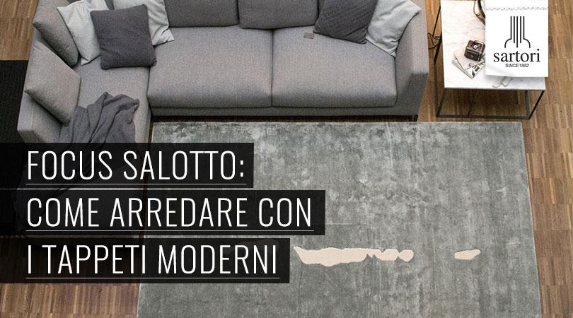 Focus Salotto: Come Arredare Con I Tappeti Moderni