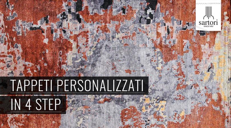 Tappeti personalizzati in 4 steps